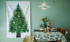 (送料無料)クリスマスツリータペストリー さこももみ 大 | みんなの声あり | 絵本ナビ Christmas Tree, Table Decorations, Holiday Decor, Green, Furniture, Home Decor, Dubrovnik, Parka, Fashion News