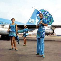 vintage Braniff Airlines