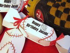 Custom Baseball Birthday Party Favors DIY Kit