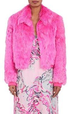SIES MARJAN Muffy Alpaca Fur Bomber Jacket. #siesmarjan #cloth #jacket