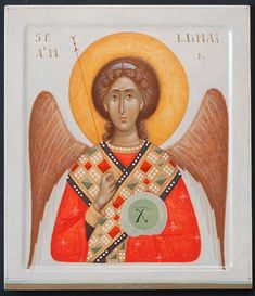 Orthodox Icons, My Arts, Gabriel, Abstract, Painting, Photos, Summary, Archangel Gabriel, Painting Art