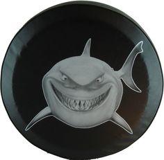 27  30 32 34 37  Great White Shark Heavy Duty black by TimsLoft