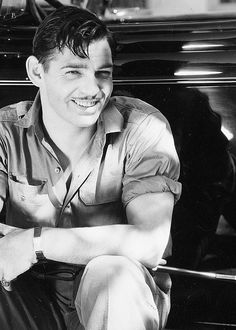 Clark Gable photographed by Russell Ball, 1930s.