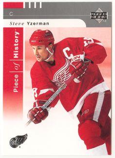 Steve Yzerman # 32 - 2002-03 Upper Deck Piece of History Hockey