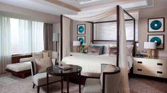 Royal Suites at Four Seasons Hotel Riyadh at Kingdom Centre foster a unique sense of exclusivity and serenity, with breathtaking views of Riyadh. Riyadh Saudi Arabia, Suite Life, Great Hotel, Hotel Suites, Four Seasons Hotel, Boudoir, Furniture, Bedrooms, Hotels