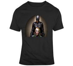 Batman And The Joker  T Shirt Joker T Shirt, Movie T Shirts, Shirt Style, Batman, Mens Tops, Movies, Cotton, Stuff To Buy, Films