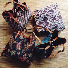 Utari Batik Tote Bag with different batik pattern #djokdjabatik