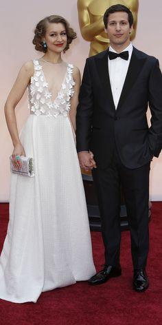 Andy Samberg and Joanna Newsom in Honor at the 87th Academy Awards February 22, 2015