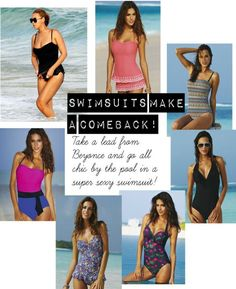 From halter suits, skirted suits, printed suits, pull you in and push you out suits (shapewear, as it's otherwise known) there's something to suit all shapes, sizes and styles. So embrace the swimsuit trend this summer, and enjoy not having to scramble for a kaftan as soon as you sit up from your sun bed, because this year it's all about feeling comfortable, having fun , oh, and looking super sexy while you're at it. Easy!