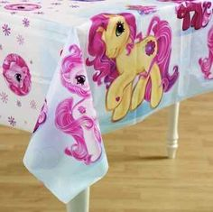 My Little Pony Party Supplies And Ideas Kids Sandy Maki Bellas 2nd Birthday