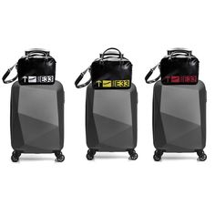 a58fb43e6c Set Sac De Voyage Valise Cabine Rigide Bagages Sport Bagageries Low Cost  Trolley - sacs de