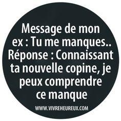 Message de mon ex !
