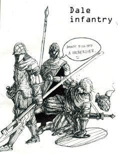 Dale Infantrymen by Merlkir on DeviantArt
