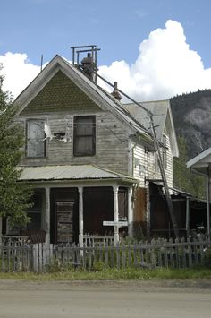 Dawson City, Yukon one of the most intruiging houses in town