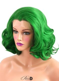 Image of Green Lotus Lace Front Wig