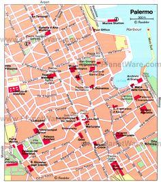 Naples tourist city centre map naples Pinterest Naples Centre
