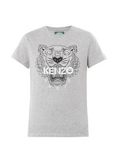 Tiger-print T-shirt | Kenzo | MATCHESFASHION.COM