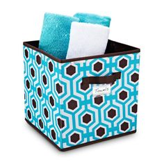 Beehive Pattern Storage Cube