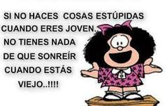 young old joven viejo vocab warmup Mafalda Quotes, Friends Laughing, Healthy People 2020 Goals, Teaching Spanish, Spanish Quotes, Spanish Humor, Some Words, Quotations, Funny Quotes