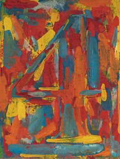 'Figure 4' (1959) by Jasper Johns
