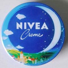 Nivea Dose Mond Motiv aus den 70er Jahren? / Österreich oder Deutschland 1980er