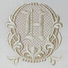 Fleur de Lis II Alphabet- H