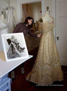 Queen of Carnival dress deconstructed: Why Charlotte Lane Langenstein's custom-made dress wowed at Rex ball on Mardi Gras | NOLA.com