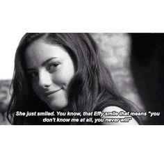That Effy smile, you don't know me and you never will! Tv Show Quotes, Film Quotes, Skins Quotes, Dark Makeup Looks, Effy Stonem, Skins Uk, Movies And Series, Mood Quotes, Random Quotes