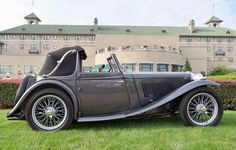 1938 MG TA - Tickford Drophead.