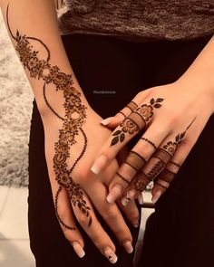 Hand Tattoos for Women Simple Mehndi Designs . Hand Tattoos for Women Simple Mehndi Designs . Latest Mehndi Designs, Pretty Henna Designs, Finger Henna Designs, Mehndi Designs Feet, Legs Mehndi Design, Mehndi Design Pictures, Modern Mehndi Designs, Henna Art Designs, Mehndi Designs For Fingers