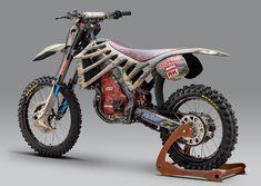 Mugen E.Rex Electric Motocrosser/Dinosaur Motorcross Bike, Motorcycle Bike, Custom Motorcycles, Custom Bikes, Bike Look, Motocross Maschinen, Electric Dirt Bike, Enduro Vintage, Dirt Bike Gear