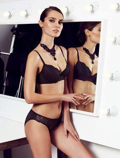 Conjunto negro relleno, Luxury Lingerie