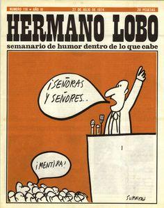 Portada de Hermano Lobo. 1974-07-27 - Summers
