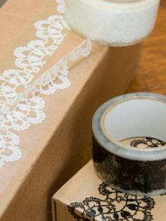 lace packaging tape