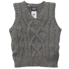 $18 Cable Knit Sweater Vest