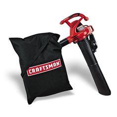 Craftsman12 amp Electric Leaf Blower Vac Outdoor power equipment Leaves Blowers #Craftsman $56
