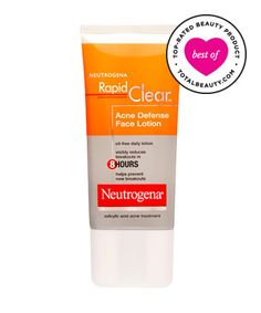 Best Drugstore Acne Product No. 7: Neutrogena Rapid Clear Acne Defense Face Lotion, $7