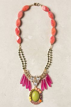 Bright summer fun necklace. Beading Daily