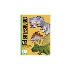 Batasaurus,dínós memória kártyajáték 5 éves kortól - Djeco