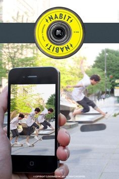 Nabit iPhone App - ActionShot lets you shoot any movement and turn it into a sequence shot. $0 FREE