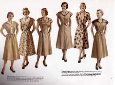 Fifties Fashion #Vintage #Retro I would have added my own creative touch and gotten arrestedfor indecent exposure!