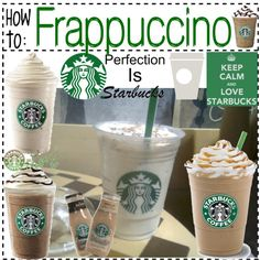 """""""[23] Starbucks Frappucino Recipe!"""" by thetipstergirl on Polyvore"""