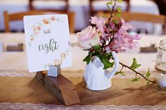 pretty printed table numbers