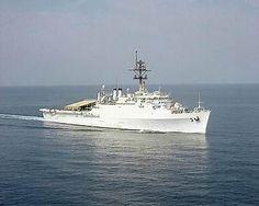 Challenge Coin w// Presentation Box LPD-3//AGF-3 US NAVY USS La Salle