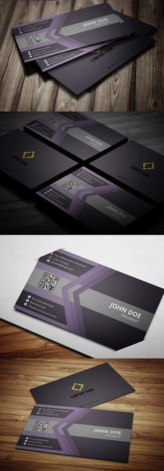 Professional Business Card With MS Word Doc #businesscards #businesscardstemplate #psdfiels #psdtemplates