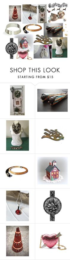 """Holidays Gift Guide"" by anna-recycle ❤ liked on Polyvore featuring Gucci, modern, rustic and vintage"