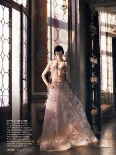 awesome Edie Campbell por David Sims para Vogue US Setembro 2013 [Editorial]