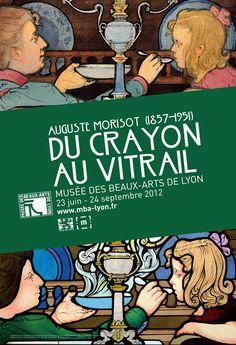 Exposition Auguste Morisot, du crayon au vitrail, du 23 juin au 24 septembre 2012