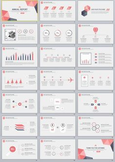 20+ Annual Report PowerPoint Template download