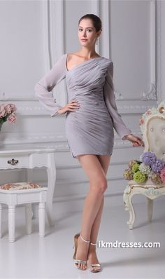http://www.ikmdresses.com/Amazing-Short-Mini-Long-Sleeves-V-neck-Ruffles-Cocktail-Party-Dress-p20709